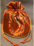 Large Gift Bag Orange - Salve & Soap