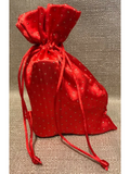 Small Gift Bag Red - Salve & Soap