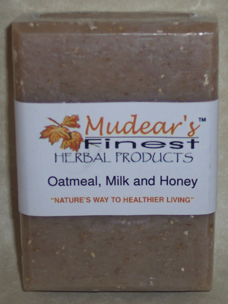 Mudear's Moisturizing Soap Oatmeal Milk and Honey