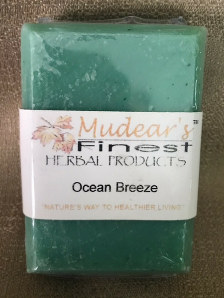 Mudear's Moisturizing Soap - Ocean Breeze