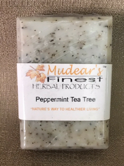 Mudear's Moisturizing Soap - Peppermint Tea Tree
