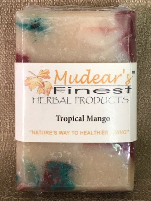 Mudear's Moisturizing Soap - Tropical Mango