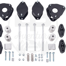 LP Aventure 2in Lift Kit - Powder Coated Black for 10-14 Subaru Outback