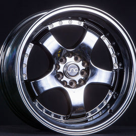 JNC 017 17X9 5X100/5X114.3 +20 CHROME BLACK Wheel/Rim