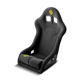 MOMO SUPERCUP XL FIBERGLASS  RACING SEATS BLACK WITH AIRNET CENTER