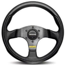 MOMO TEAM STEERING WHEEL BLACK/ANTHRACITE 280MM UNIVERSAL
