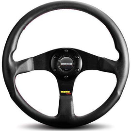 MOMO TUNER STEERING WHEEL BLACK/BLACK 320MM UNIVERSAL