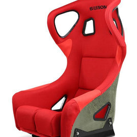 SEIBON - UNIVERSAL CARBON KEVLAR BUCKET RACING SEAT TYPE-FC - RED
