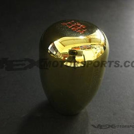 BLOX RACING LIMITED 6 SPEED SHIFT KNOB 12X1.25MM GOLD FOR SUBARU STI FOR TOYOTA