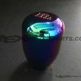 BLOX RACING LIMITED 6 SPEED SHIFT KNOB 12X1.25MM NEO CHROME FOR SUBARU STI FOR T
