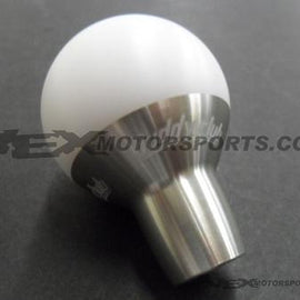 Buddyclub Racing - Type A Shift Knob - Nissan / Mitsubishi 10x1.25mm - White