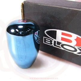 BLOX RACING LIMITED 5 SPEED SHIFT KNOB 10X1.5MM ELECTRIC BLUE FOR HONDA CIVIC FO