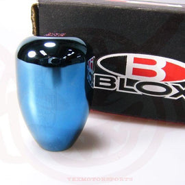 BLOX RACING LIMITED 5 SPEED SHIFT KNOB 10X1.25 BLUE FOR MITSUBISHI FOR NISSAN FO