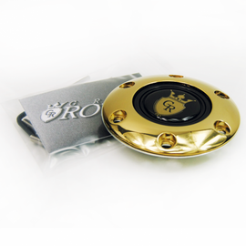 GRIP ROYAL STEERING WHEEL HORN KIT GOLD CREST BUTTON WITH GOLD RING
