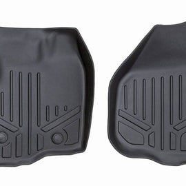 Rough Country Heavy Duty Floor Mats - Front Set (Raised Pedal)