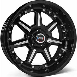 Rebel Offroad Phantom 20x9.0 6x139.7 +0 cb108 Black Machined Wheel/Rim