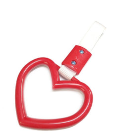 RED HEART JDM TRAIN/BUS/SUBWAY HANDLE STRAP