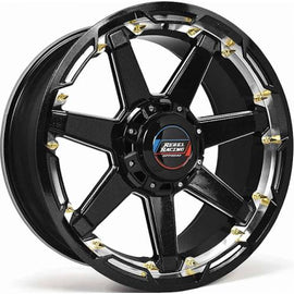 Rebel Offroad Scorpion 20x9.0 6x135/6x139.7 +18 cb108 Black Machined Wheel/Rim