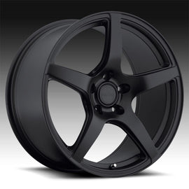 MRR UO8 19x9.5 5x120 +33 MATTE BLACK 1 WHEEL/RIM