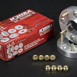 Ichiba - 27MM Version 2 Aluminum Bolt-On Wheel Spacers - Nissan 240SX 89-94