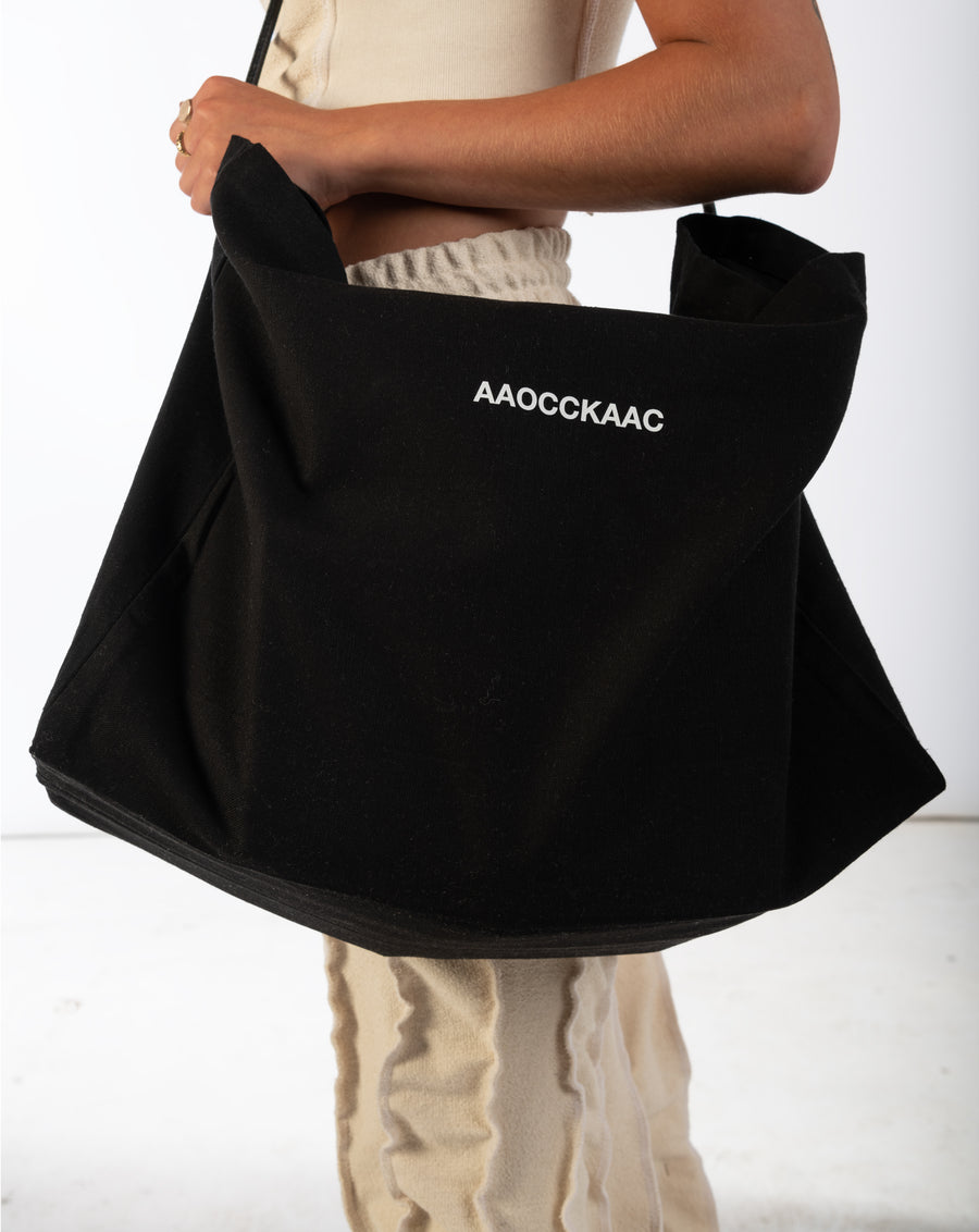 AAOC_TOTE BAG BLACK
