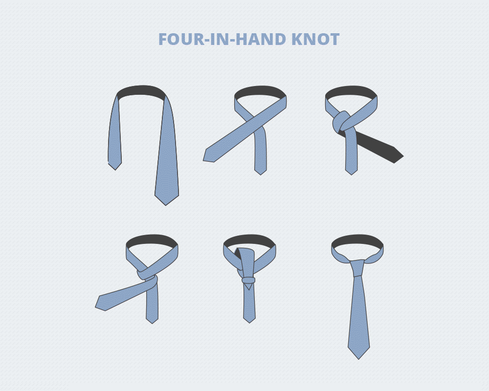 Here, You'll Learn How To Tie A Tie, Step By Step, For Three Of The Most  Popular Knots: The Fourinhand, Halfwindsor, And Windsor Knots