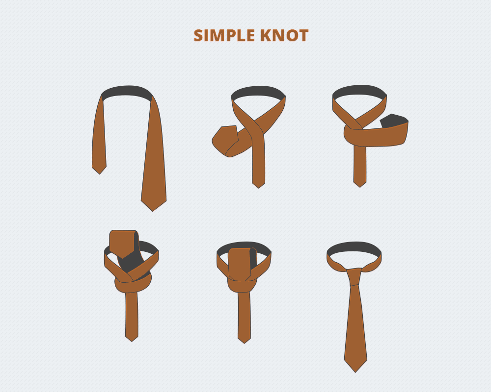 How to tie a tie gotie how to tie a simple knot ccuart Gallery