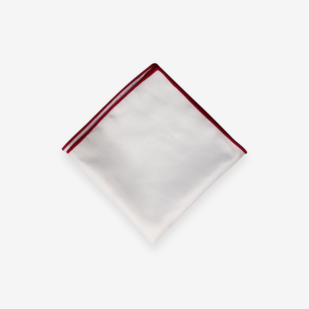 A Touch of Red Pocket Square