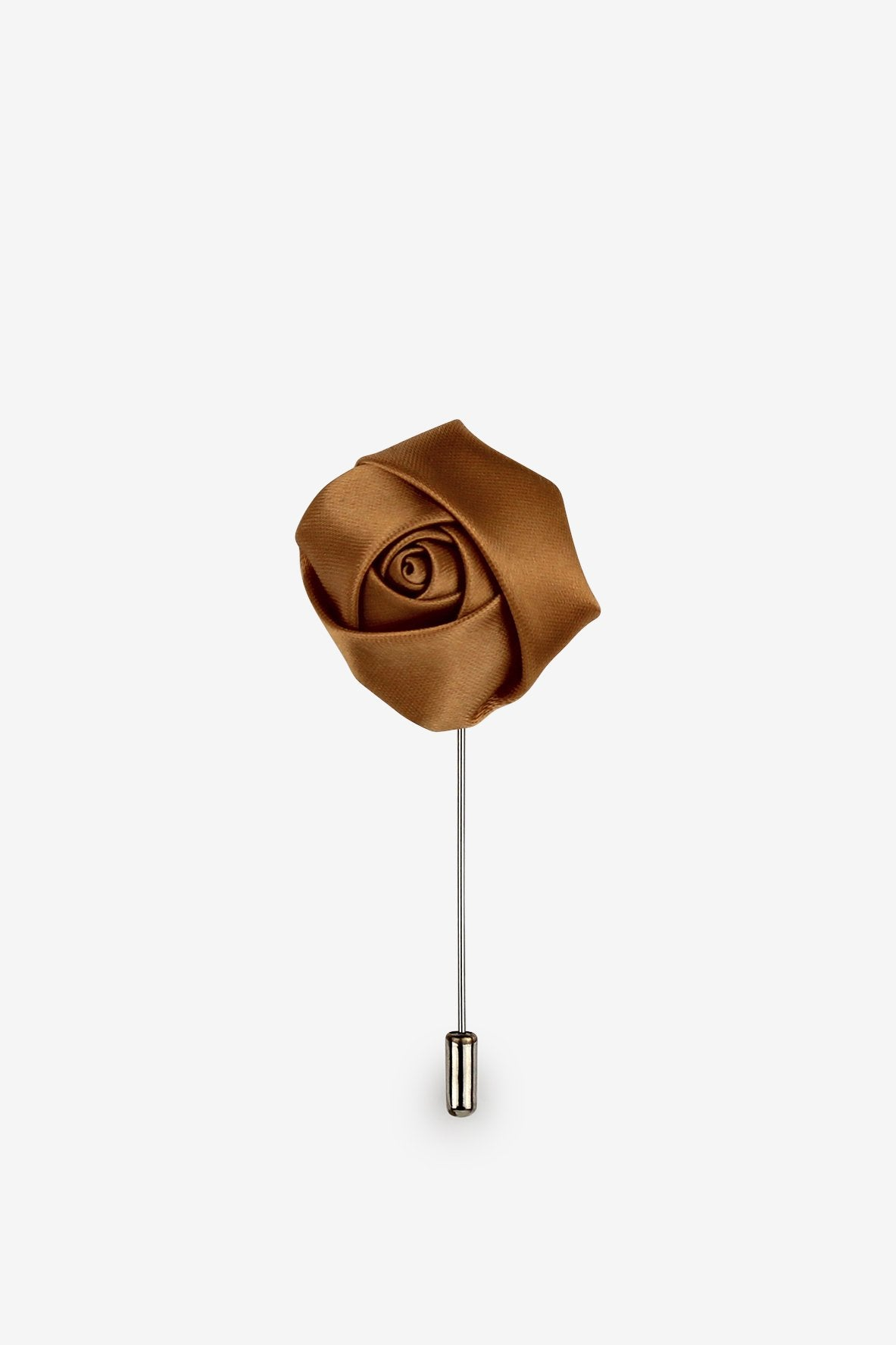 Amber Flower Lapel Pin