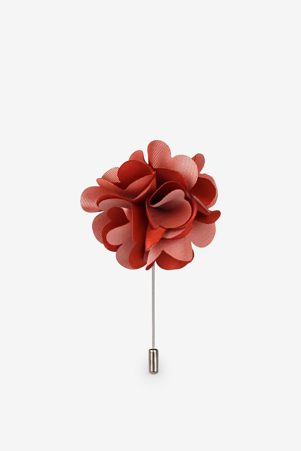 Beating Hearts Flower Lapel Pin