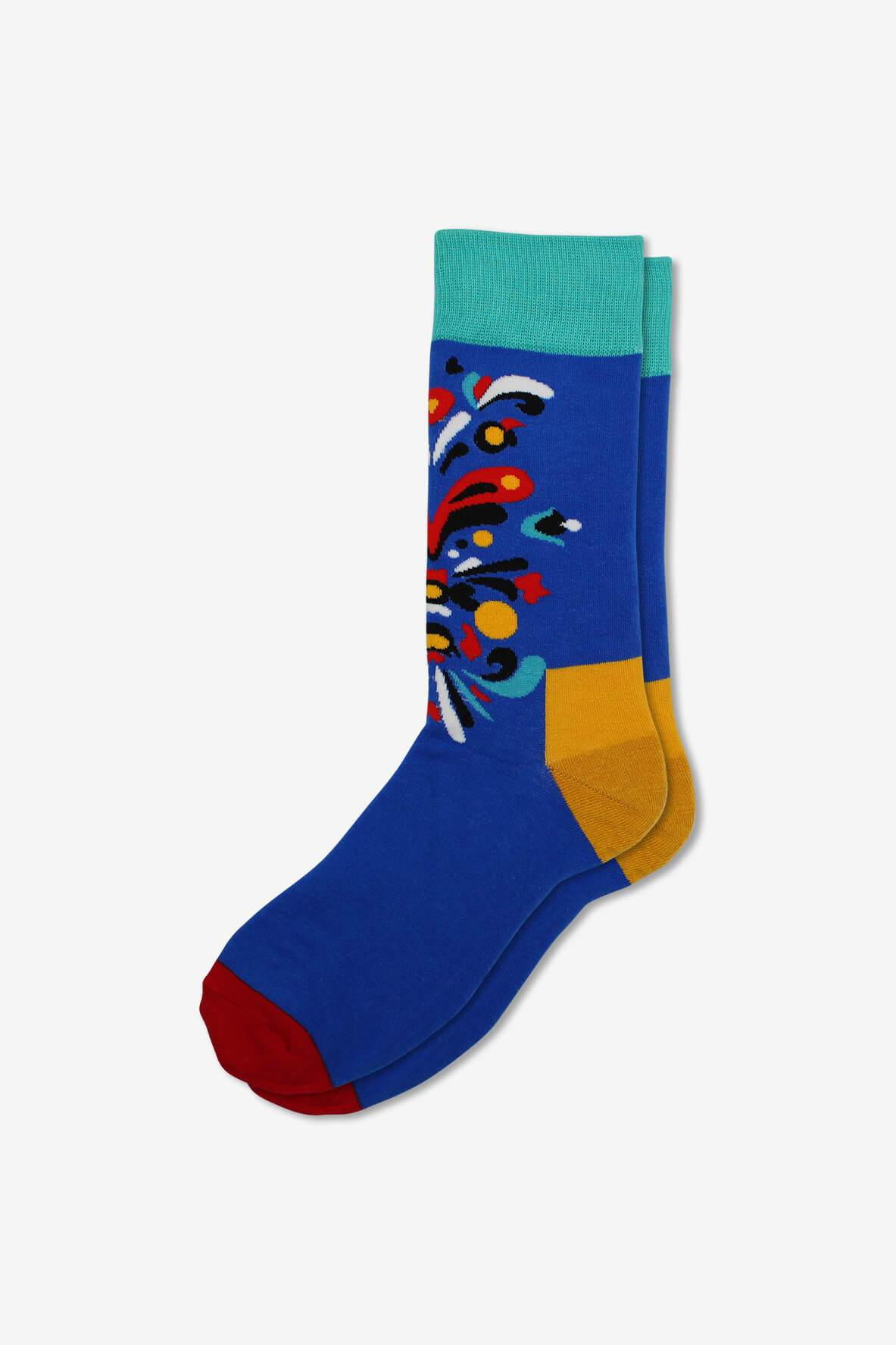 Colorful Flair, socks, GoTie