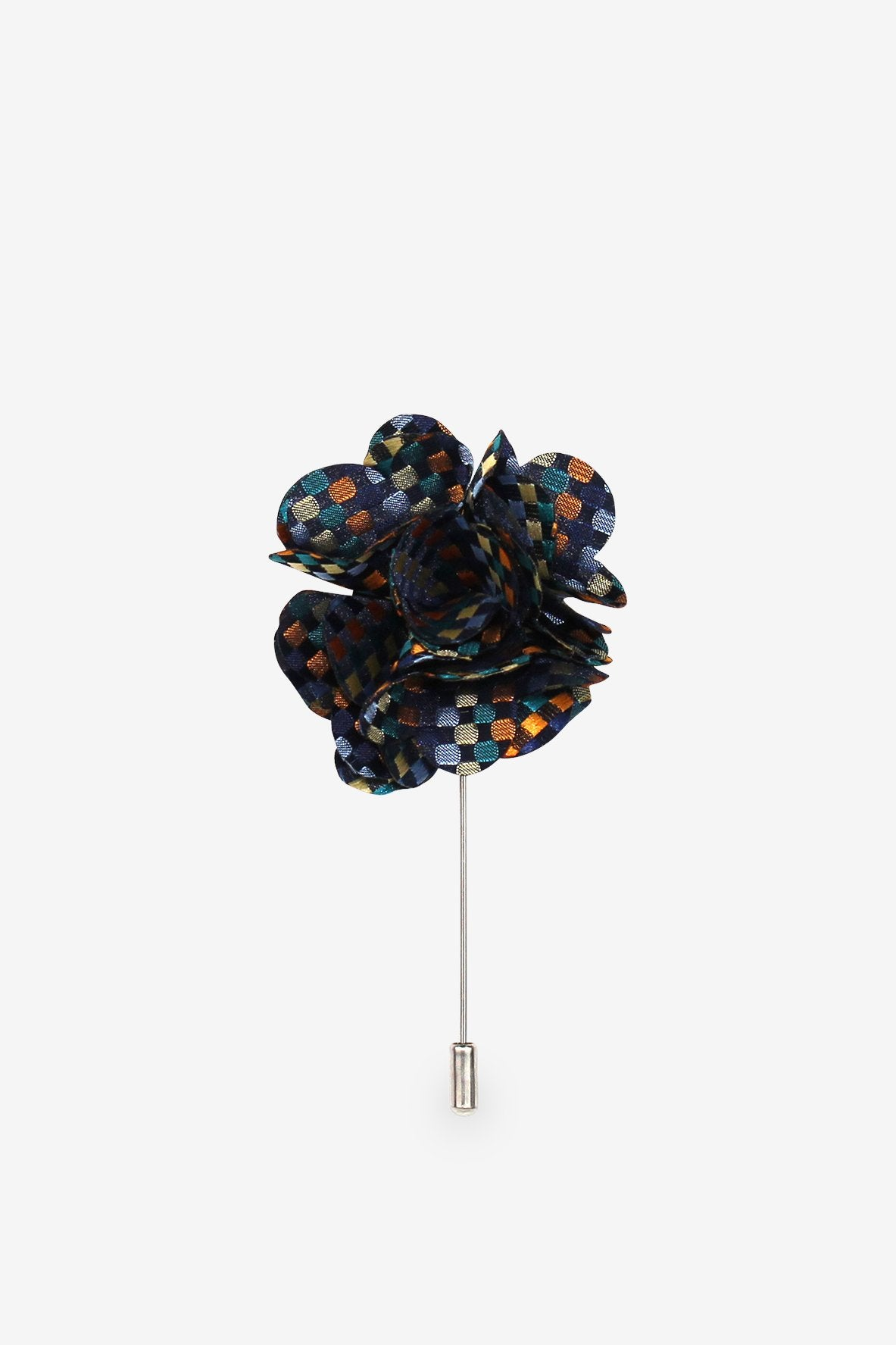 Checkpoint Flower Lapel Pin