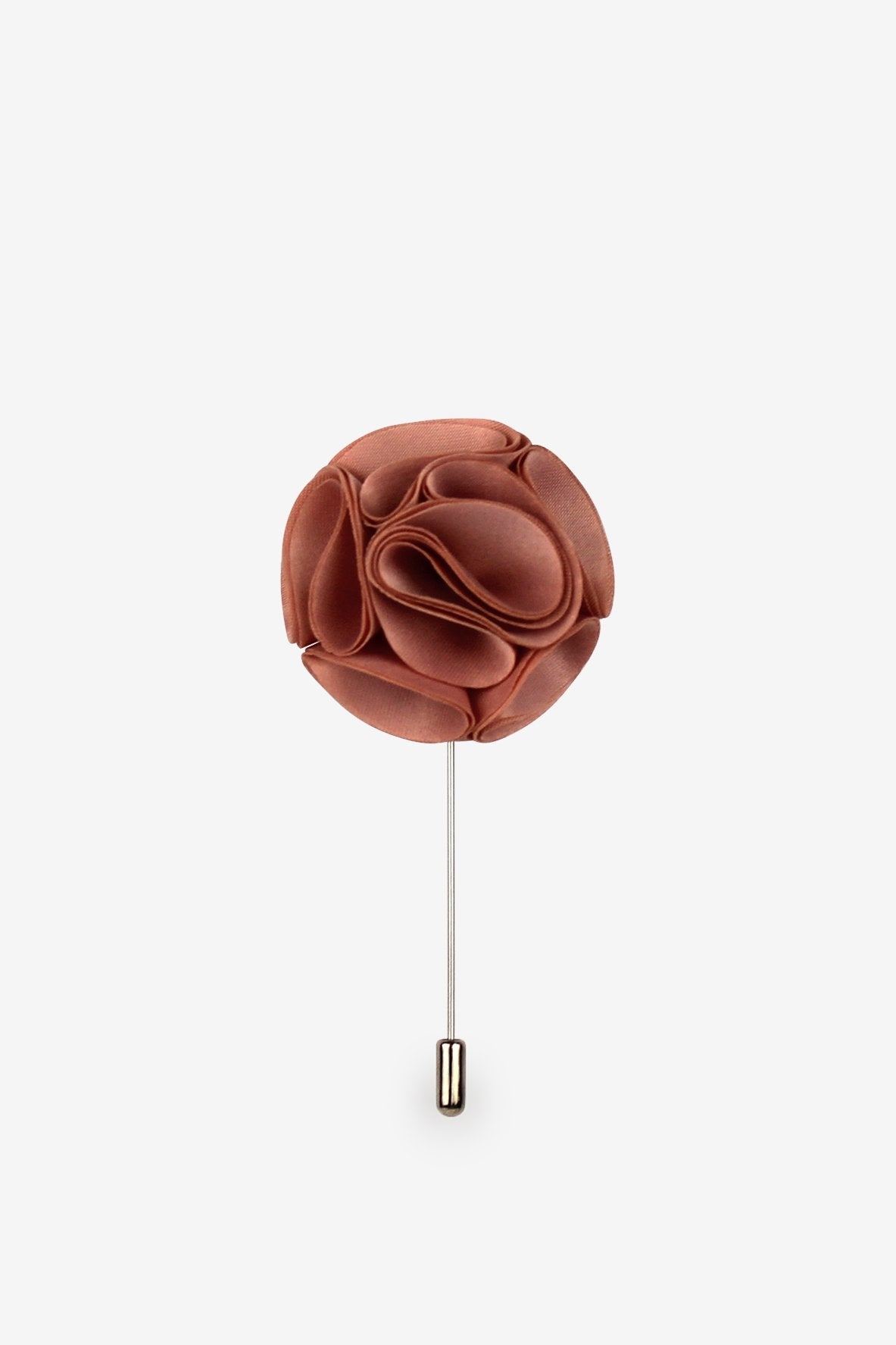 Dusty Rose Flower Lapel Pin