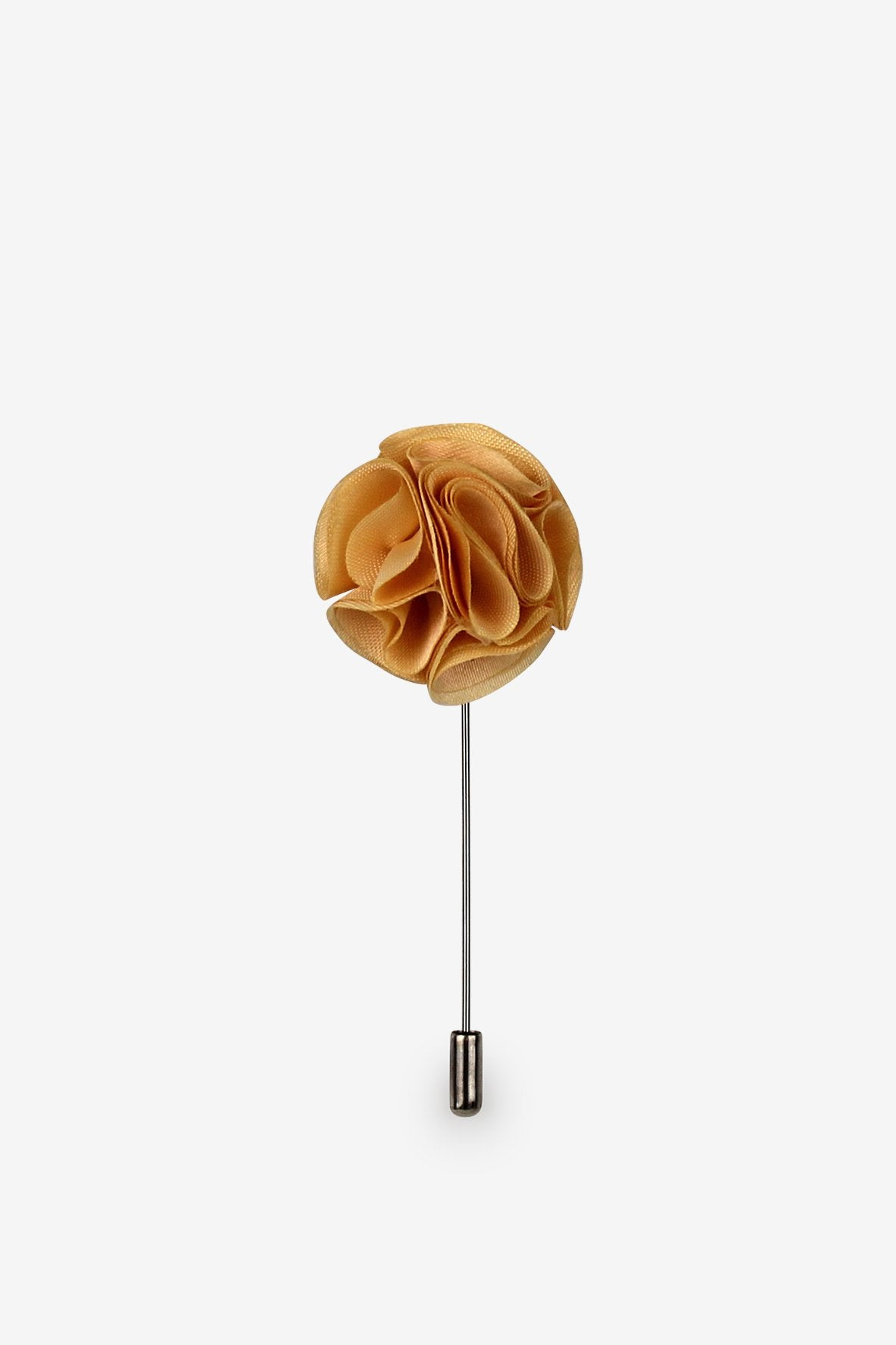 Gold Rush Flower Lapel Pin