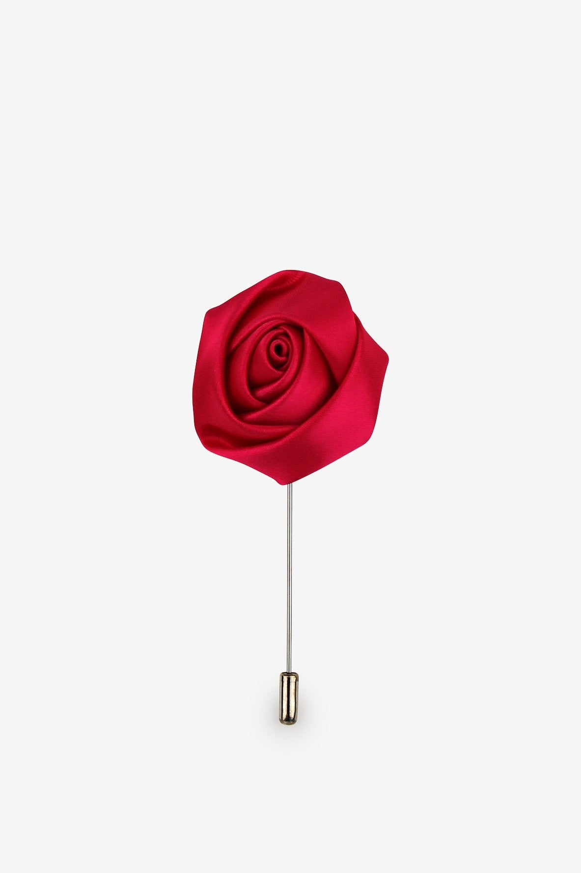 Hibiscus Red Flower Lapel Pin