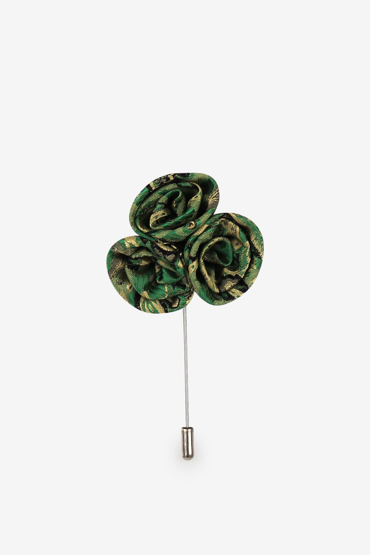 Irish Luck Flower Lapel Pin