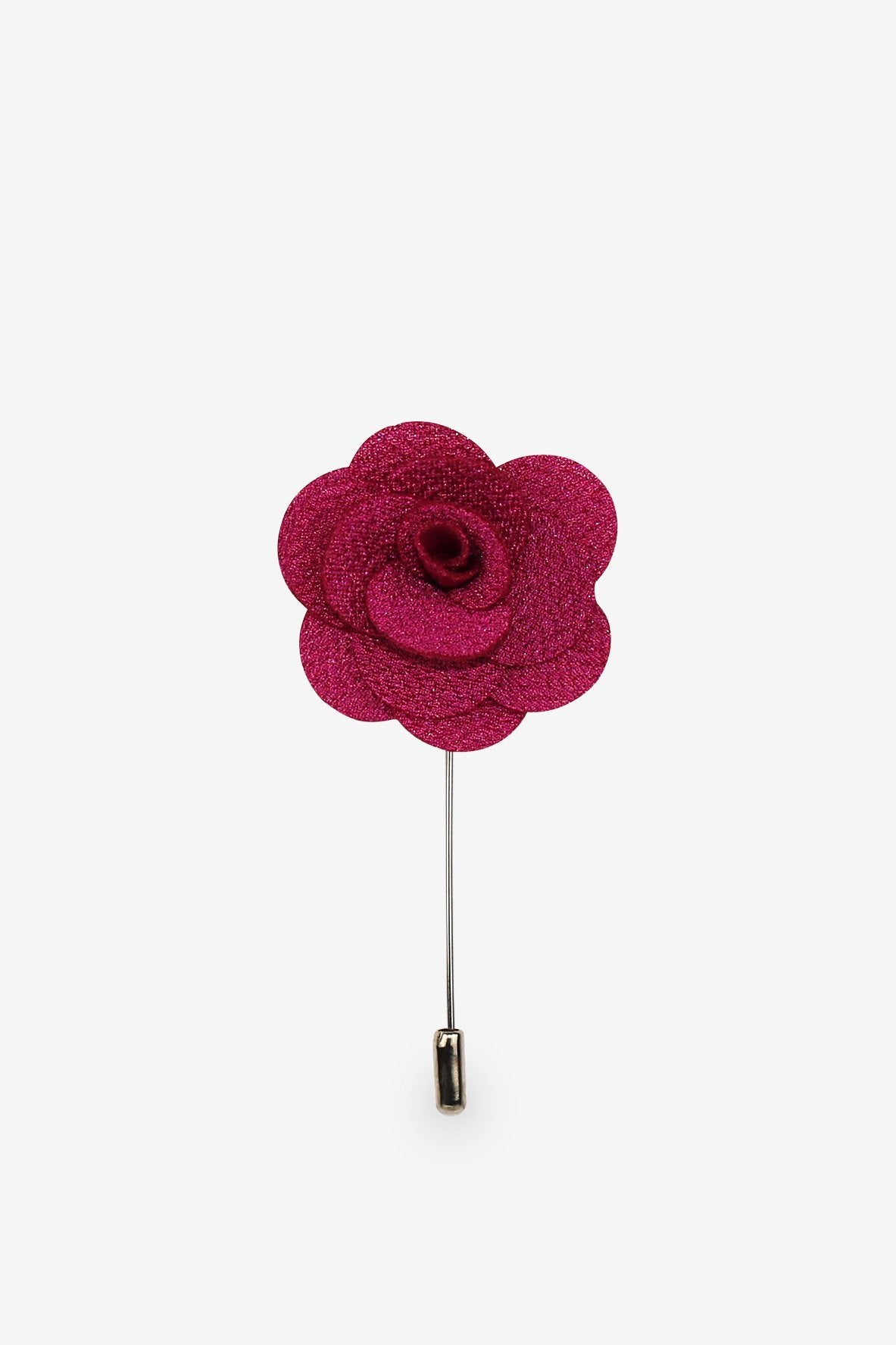 Mega Magenta Flower Lapel Pin