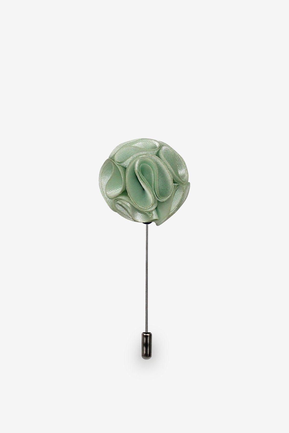 Mint Green Flower Lapel Pin