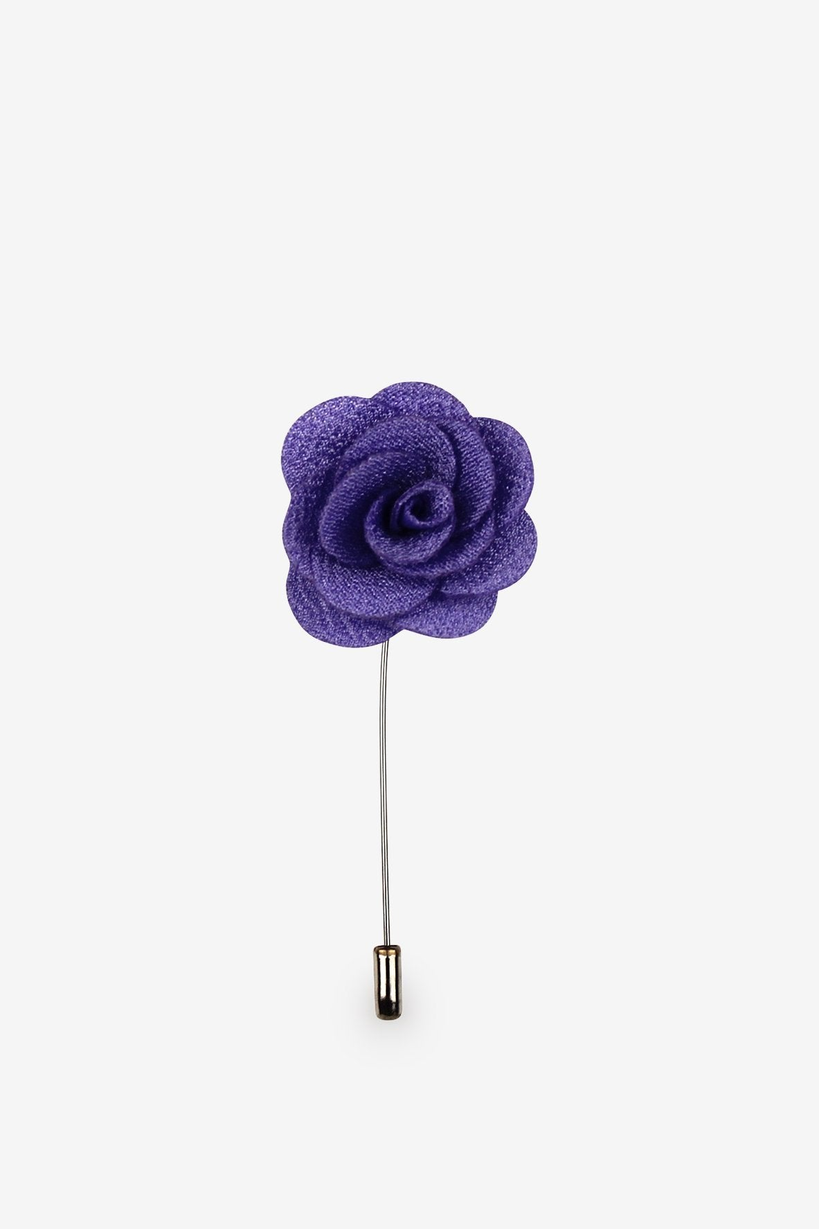 Purple Rain Flower Lapel Pin