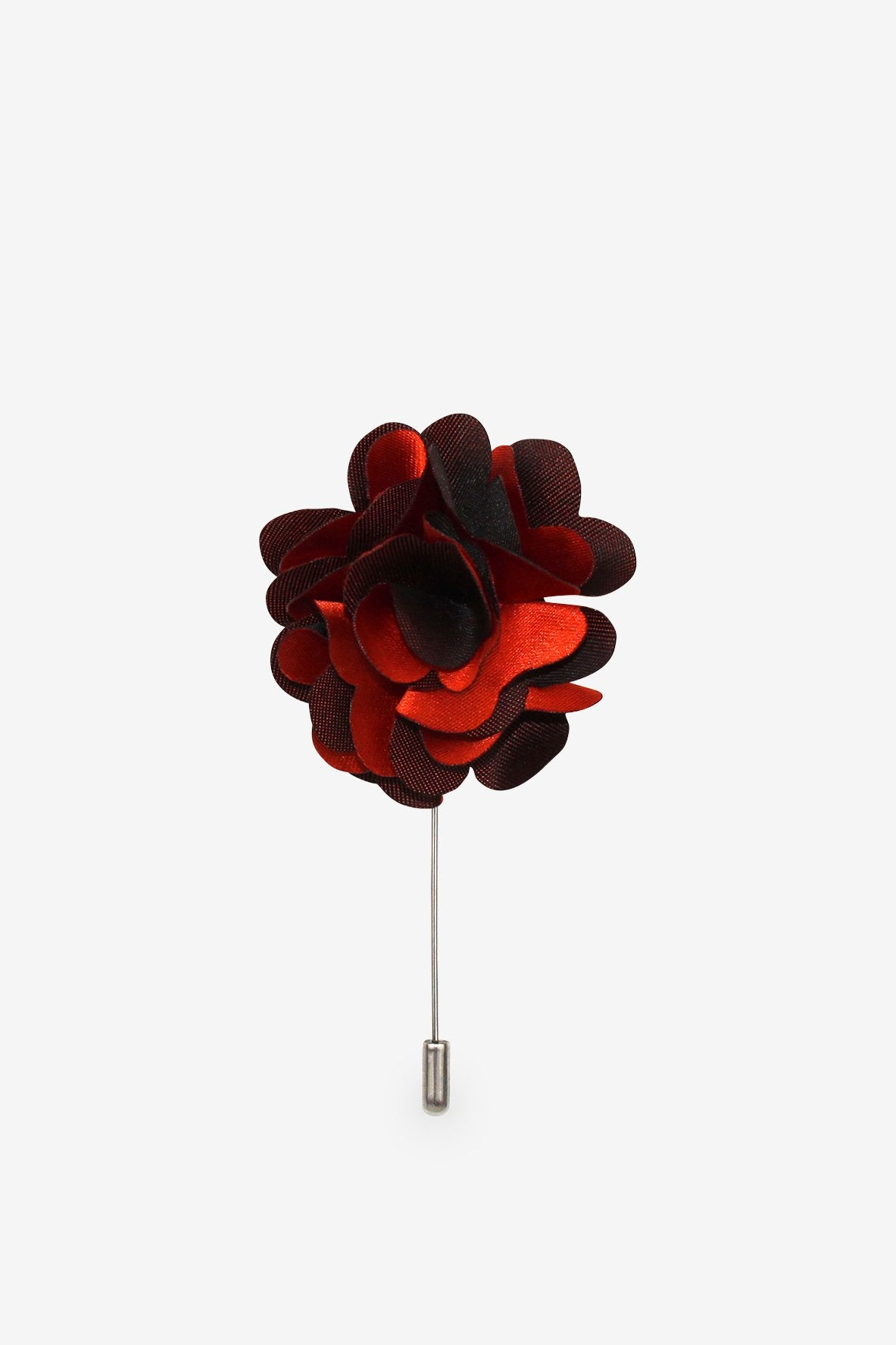 Queen of Hearts Flower Lapel Pin