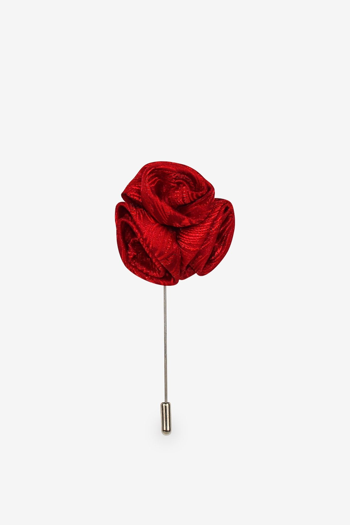 Rose Bouquet Flower Lapel Pin