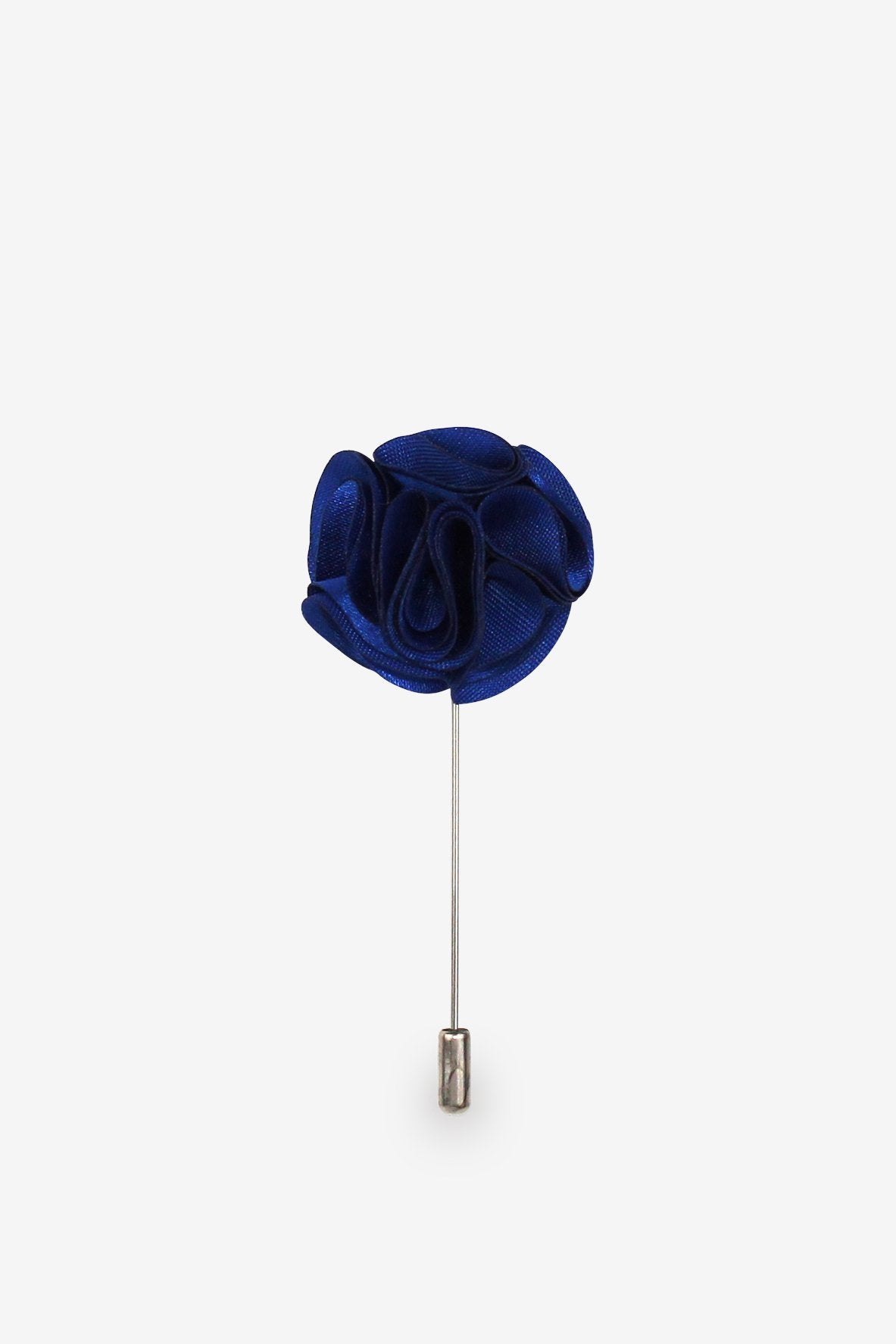 Royal Blue Flower Lapel Pin