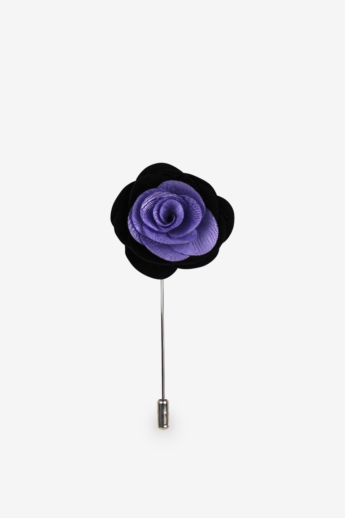 Seeing Violets Flower Lapel Pin