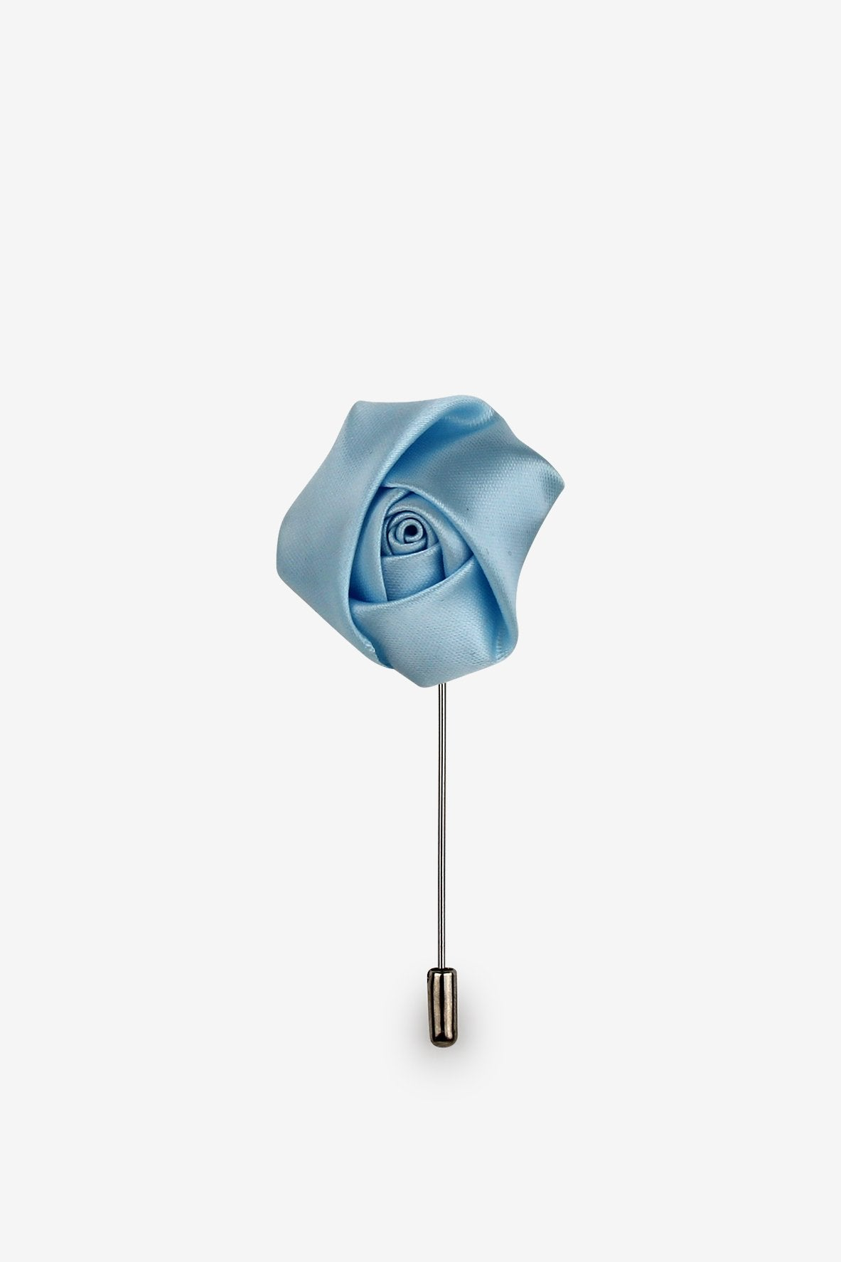 Sky Blue Flower Lapel Pin