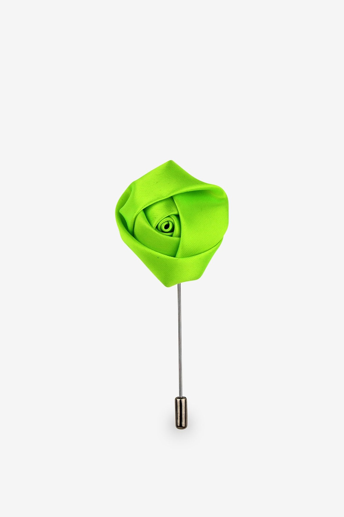 Spring Green Flower Lapel Pin