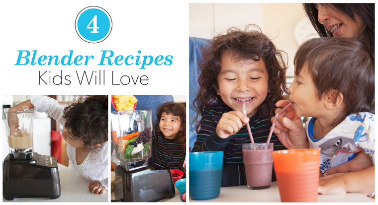 4 summer blender recipes kids will love