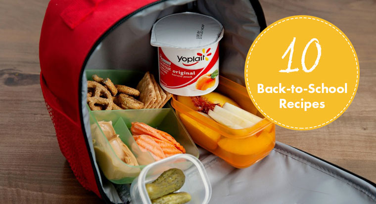 10 back to school recipes