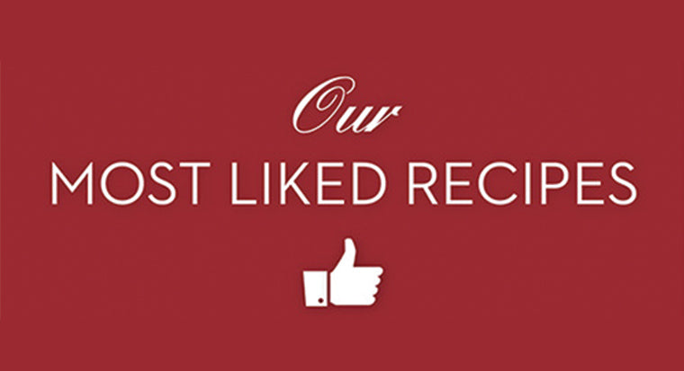 Most Liked Facebook Recipes