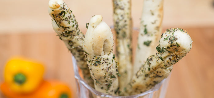 Blendtec breadsticks