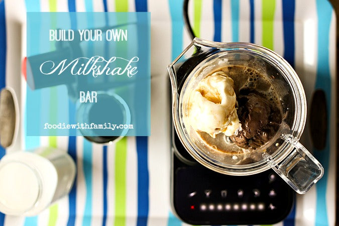 build your own milkshake bar